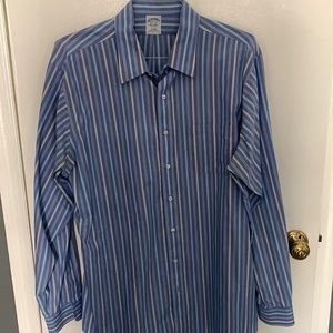 $3 for $45! Brooks brothers slim fit formal shirt